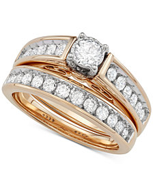 Diamond Bridal Set (1 ct. t.w.) in 14k Gold
