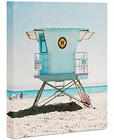 """Deny Designs Bree Madden Santa Cruz Summer Art Canvas 8x10"""""""