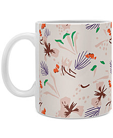 Deny Designs Holli Zollinger Pattern Seville Garden Light Coffee Mug