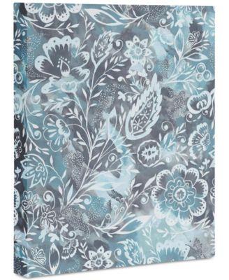 "Jacqueline Maldonado Folk Floral Art Canvas 8x10"""