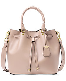 MICHAEL Michael Kors Blakely Smooth Leather Bucket Bag