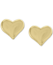 EFFY Kidz® Children's Heart Stud Earrings in 14k Gold