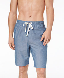 Polo Ralph Lauren Men's Woven Chambray Cotton Pajama Shorts