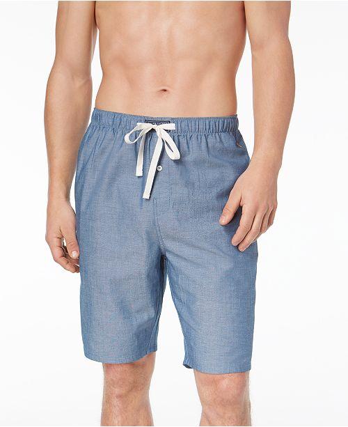... Polo Ralph Lauren Men s Woven Chambray Cotton Pajama Shorts ... 14f650f51