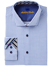 Michelsons of London Men's Slim-Fit Fancy Dress Shirt