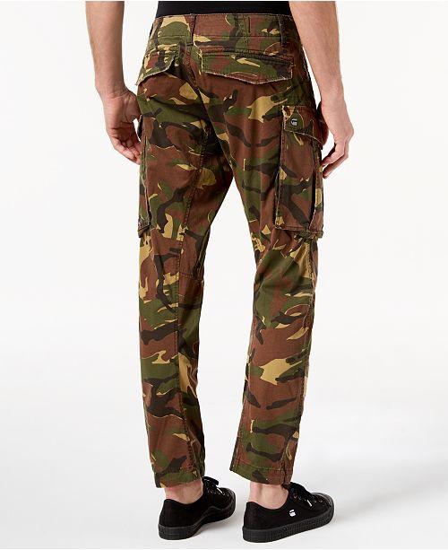 9d149c07e19a3c G-Star Raw Men's Tapered Fit Stretch Camo Cargo Pants & Reviews ...