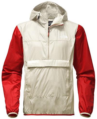 The North Face Men's Fanorak Colorblock Water-Repellent Pullover