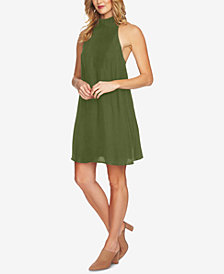 1.STATE Mock-Neck Shift Dress