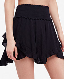 Free People Easy Breezy Asymmetrical Mini Skirt