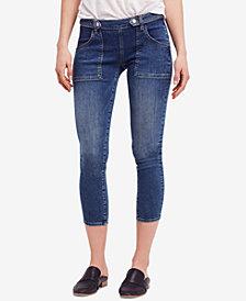 Free People Stratford Cropped Skinny Jeans