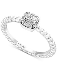 EFFY Kidz® Children's Diamond Accent Cluster Ring in Sterling Silver