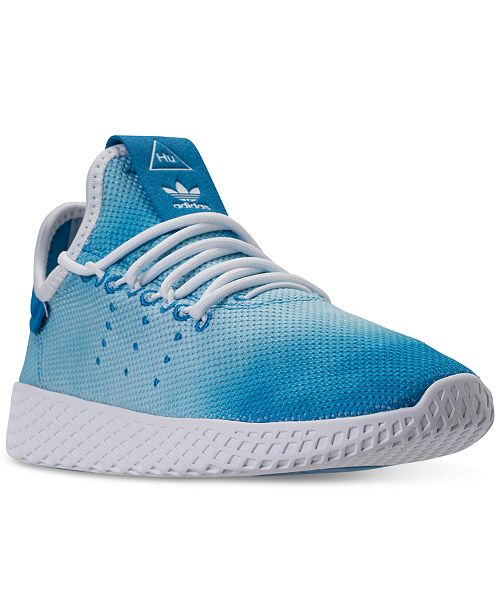 e767b491c7a10 adidas Big Boys  Originals Pharrell Williams Tennis HU Casual Sneakers from Finish  Line