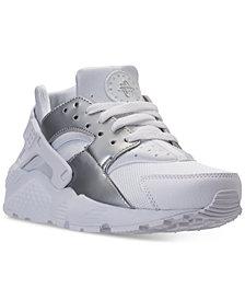 Nike Big Boys' Huarache Run Running Sneakers from Finish Line