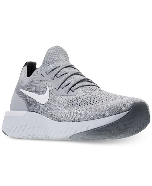 d057a4cecb790 Nike Women s Epic React Flyknit Running Sneakers from Finish Line ...