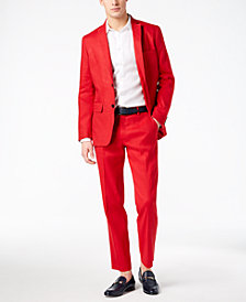 I.N.C. Men's Jayden Non-Iron Shirt & Slim-Fit Stretch Suit Separates, Created for Macy's