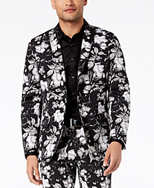 I.N.C. Men's Slim-Fit Floral-Print Blazer, Created for Macy's
