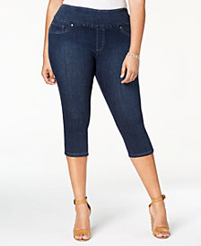 Lee Platinum Plus Size Cropped Jeggings