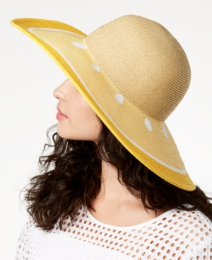 1940s Style Hats August Hats Fruit Stand Floppy Hat $36.00 AT vintagedancer.com