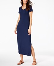 c637fee8a91e Style & Co Petite Scoop-Neck Maxi Dress, Created for Macy's