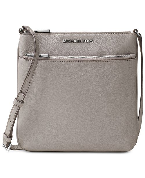 29005c52275a7b Michael Kors Riley Pebble Leather Crossbody & Reviews - Handbags ...