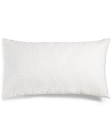 "CLOSEOUT! Hotel Collection  Marquesa Beaded 14"" x 20"" Decorative Pillow, Created for Macy's"