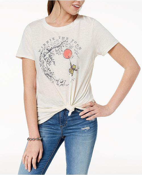 420e83ab Modern Lux Juniors' Winnie The Pooh Graphic-Print T-Shirt & Reviews ...