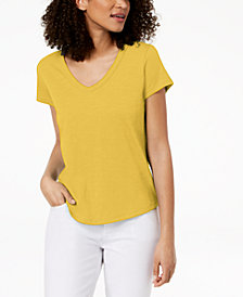 Eileen Fisher Organic Cotton T-Shirt, Regular & Petite