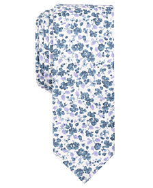 Original Penguin Men's Sjeng Floral Skinny Tie