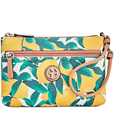 Giani Bernini Saffiano Lemon Wristlet, Created for Macy's