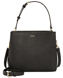 DKNY Samara Small Bucket Crossbody, Created for Macy's