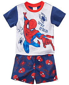 Marvel's® Spider-Man 2-Pc. Graphic-Print Pajama Set, Toddler Boys