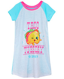 Shopkins Graphic-Print Nightgown, Little & Big Girls