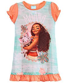 Disney's® Moana Graphic-Print Nightgown, Toddler Girls