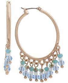 lonna & lilly Gold-Tone Shaky Bead Hoop Earrings