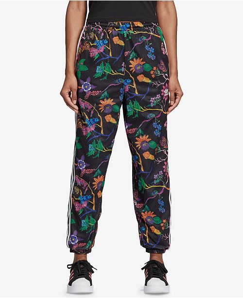 17fdb6bfb2 adidas Garden Print Reversible Track Pants & Reviews - Pants ...