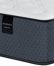"MacyBed Lux Dunmore 14.5"" Plush Hybrid Mattress - King, Created for Macy's"