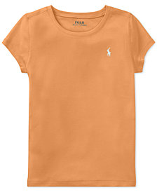 Polo Ralph Lauren Stretch T-Shirt, Big Girls