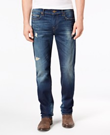 True Religion Men's Rocco Skinny Fit Renegade Jeans