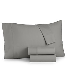 Bari 4-Pc. Solid California King Sheet Set, 350 Thread Count Cotton Blend