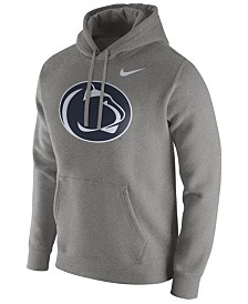 Nike Men's Penn State Nittany Lions Cotton Club Fleece Hooded Sweatshirt