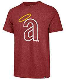 '47 Brand Men's Los Angeles Angels Coop Triblend Match T-Shirt