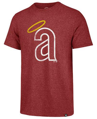 '47 Brand Men's Los Angeles Angels Coop Triblend Match T-Shirt