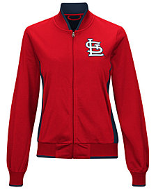 G-III Sports Women's St. Louis Cardinals Triple Track Jacket