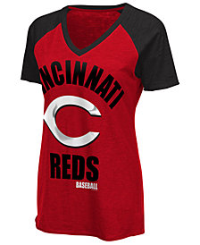 G-III Sports Women's Cincinnati Reds Game On T-Shirt