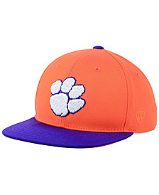 Top of the World Boys' Clemson Tigers Maverick Snapback Cap