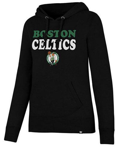 '47 Brand Women's Boston Celtics Wordmark Headline Hoodie