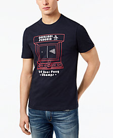 Original Penguin Men's 'Pong Champ' Graphic-Print T-Shirt, Created for Macy's