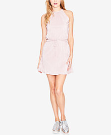 RACHEL Rachel Roy Pleated Mini Dress, Created for Macy's