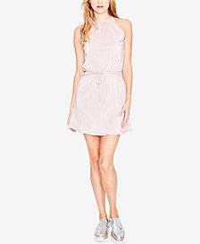 RACHEL Rachel Roy Pleated Mini Dress, Created for Macy's