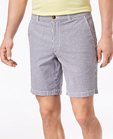 "Club Room Men's 9"" Seersucker Stretch Shorts, Created for Macy's"